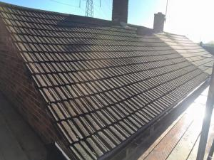 Re-roof project - Wednesbury