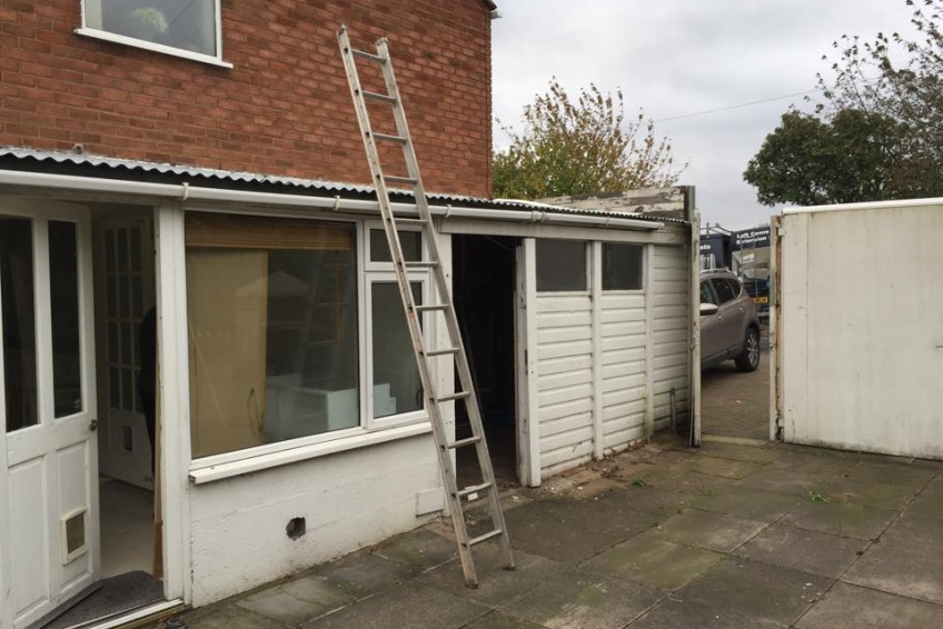 House Extension Building Specialists Walsall, Wednesbury - It's days are numbered...