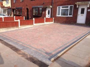 Block Paving Driveway - Walsall