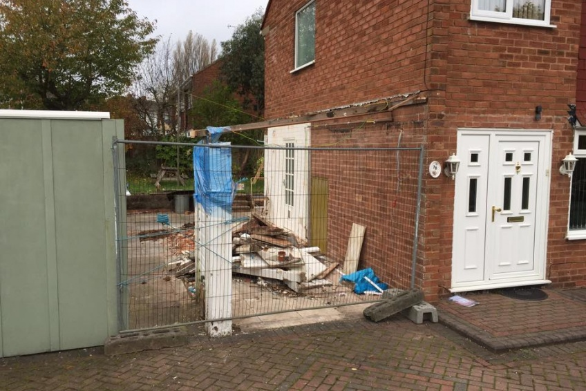 House Extension Building Specialists Walsall, Wednesbury - All gone ready to build